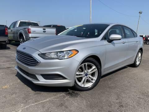 2018 Ford Fusion for sale at Superior Auto Mall of Chenoa in Chenoa IL