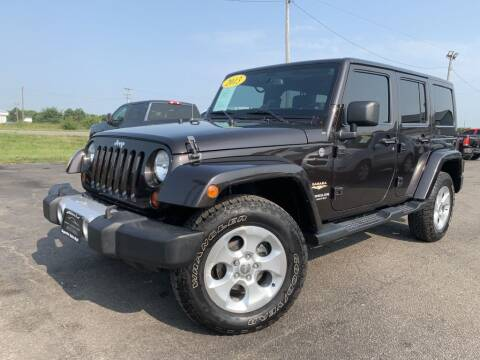 2013 Jeep Wrangler Unlimited for sale at Superior Auto Mall of Chenoa in Chenoa IL