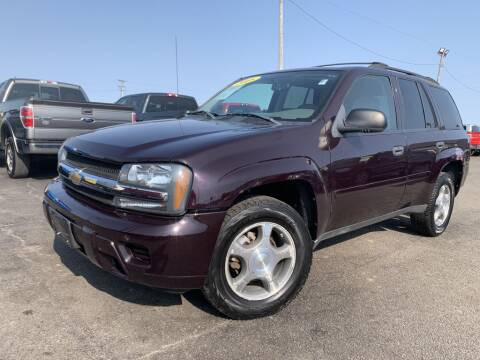 2008 Chevrolet TrailBlazer for sale at Superior Auto Mall of Chenoa in Chenoa IL