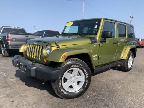 2007 Jeep Wrangler Unlimited for sale at Superior Auto Mall of Chenoa in Chenoa IL