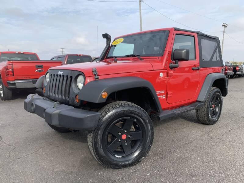 2010 Jeep Wrangler for sale at Superior Auto Mall of Chenoa in Chenoa IL