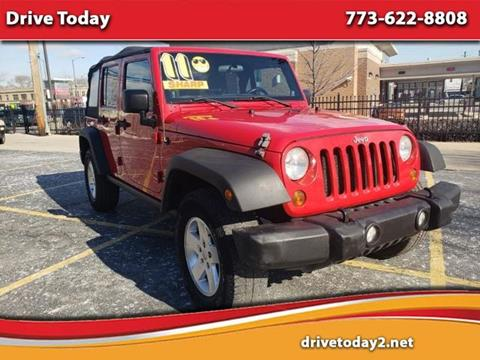 2011 Jeep Wrangler Unlimited for sale in Chicago, IL