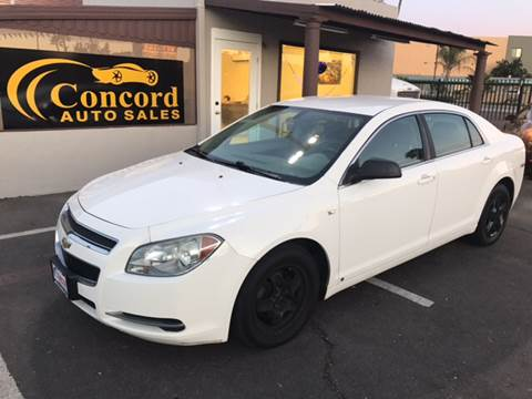 2008 Chevrolet Malibu for sale at Concord Auto Sales in El Cajon CA