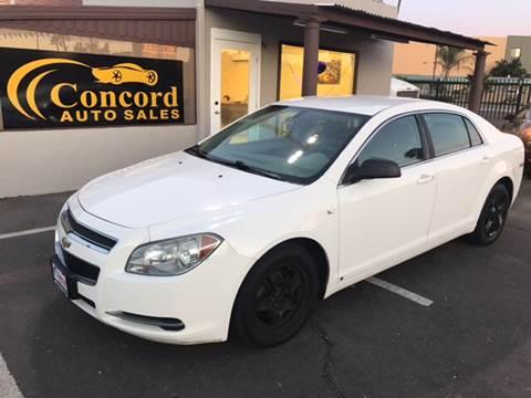 2008 Chevrolet Malibu for sale at Concord Auto Sales in El Cajon CA