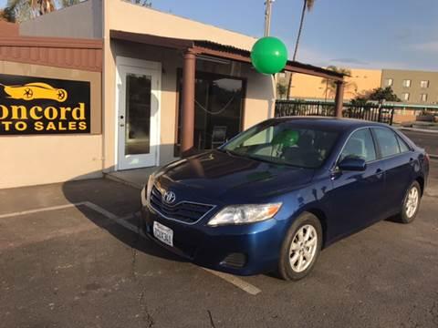 2011 Toyota Camry for sale at Concord Auto Sales in El Cajon CA