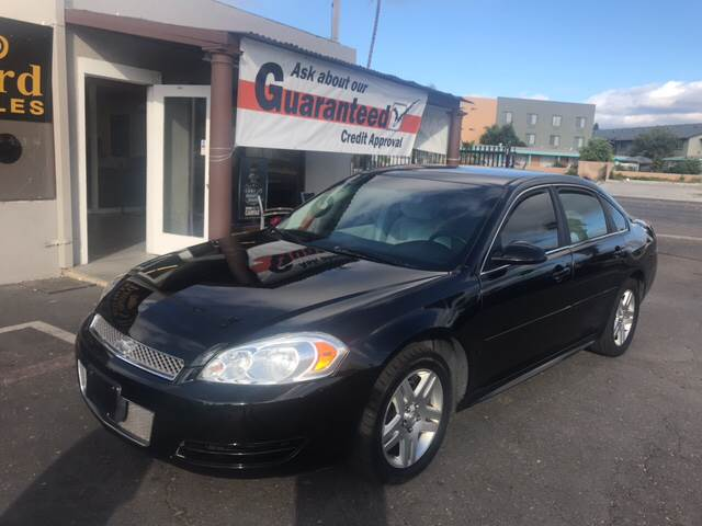 2013 Chevrolet Impala For Sale At Concord Auto Sales In El Cajon CA