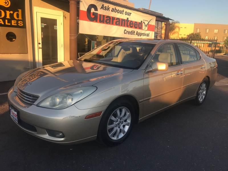 2004 Lexus ES 330 For Sale At Concord Auto Sales In El Cajon CA