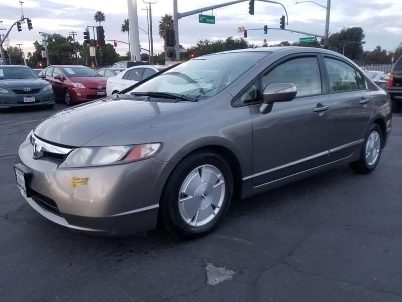2006 Honda Civic For Sale At California Auto Deals In Sacramento CA