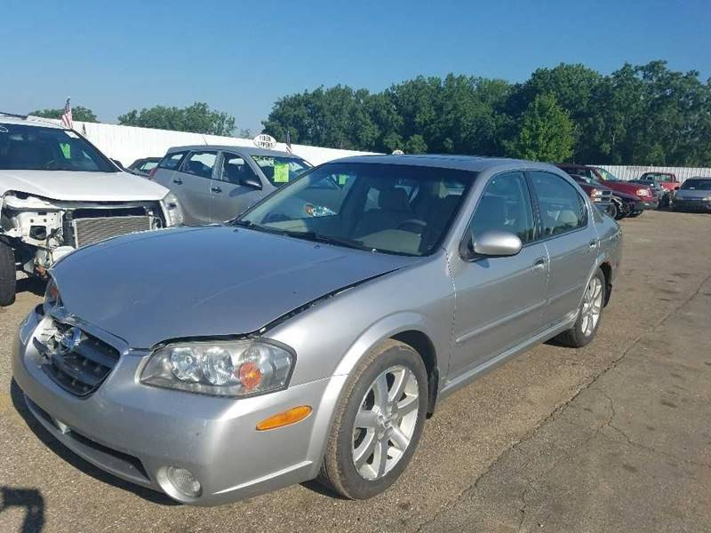 2003 Nissan Maxima For Sale At WELLER BUDGET LOT In Grand Rapids MI