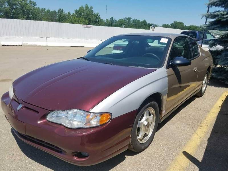 2005 Chevrolet Monte Carlo For Sale At WELLER BUDGET LOT In Grand Rapids MI