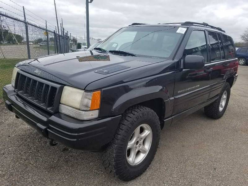 1998 Jeep Grand Cherokee For Sale At WELLER BUDGET LOT In Grand Rapids MI