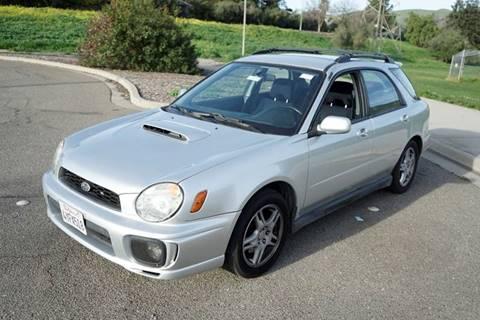 2002 Subaru Impreza for sale at Sports Plus Motor Group LLC in Sunnyvale CA