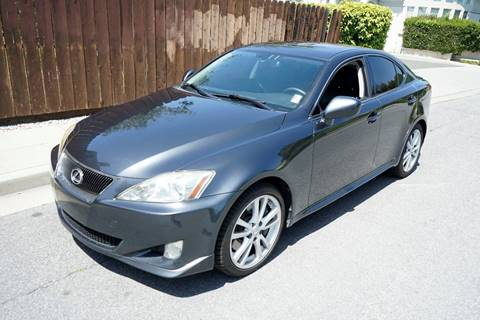 2006 Lexus IS 350 for sale at Sports Plus Motor Group LLC in Sunnyvale CA
