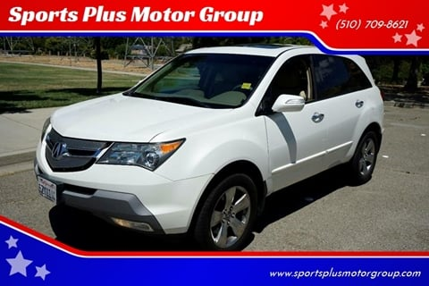 2007 Acura MDX for sale at Sports Plus Motor Group LLC in Sunnyvale CA