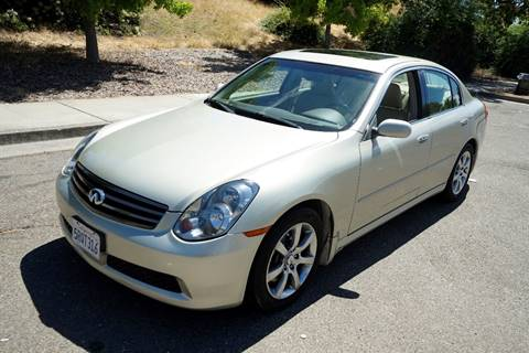 2005 Infiniti G35 for sale at Sports Plus Motor Group LLC in Sunnyvale CA