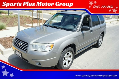 2006 Subaru Forester for sale at Sports Plus Motor Group LLC in Sunnyvale CA