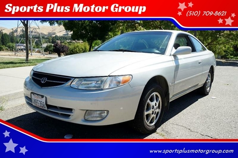 2000 Toyota Camry Solara for sale at Sports Plus Motor Group LLC in Sunnyvale CA