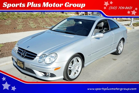 2008 Mercedes-Benz CLK for sale at Sports Plus Motor Group LLC in Sunnyvale CA