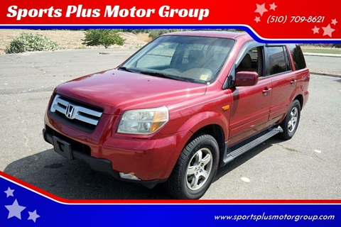 2006 Honda Pilot for sale at Sports Plus Motor Group LLC in Sunnyvale CA