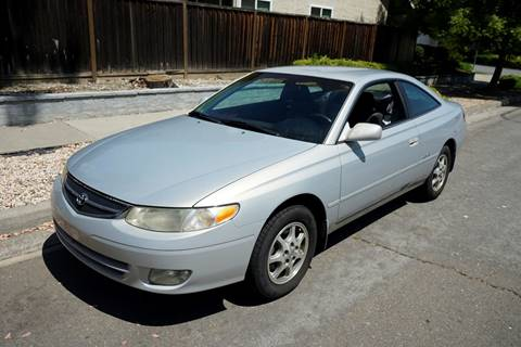 1999 Toyota Camry Solara for sale at Sports Plus Motor Group LLC in Sunnyvale CA