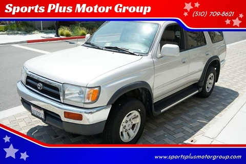1997 Toyota 4Runner for sale at Sports Plus Motor Group LLC in Sunnyvale CA