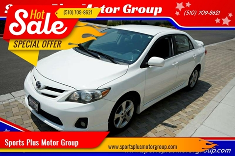 2011 Toyota Corolla for sale at Sports Plus Motor Group LLC in Sunnyvale CA