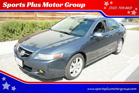 2005 Acura TSX for sale at Sports Plus Motor Group LLC in Sunnyvale CA