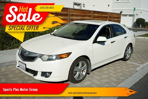 2009 Acura TSX for sale at Sports Plus Motor Group LLC in Sunnyvale CA