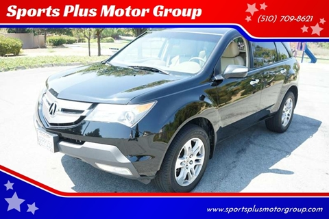 2008 Acura MDX for sale at Sports Plus Motor Group LLC in Sunnyvale CA