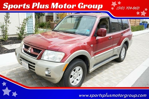 2003 Mitsubishi Montero for sale at Sports Plus Motor Group LLC in Sunnyvale CA