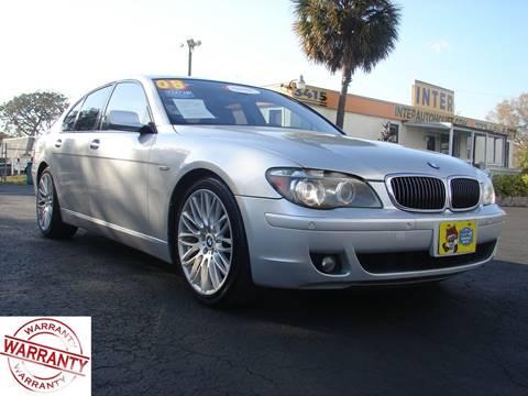 BMW Series For Sale Carsforsalecom - 2008 bmw 750i