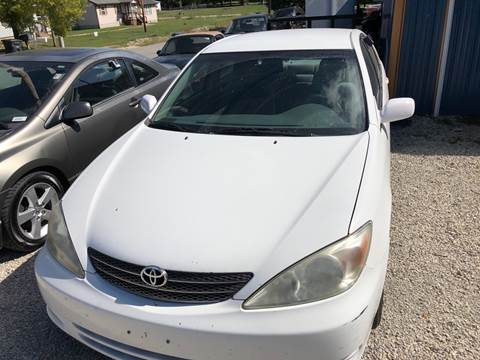 2002 Toyota Camry for sale at Bailey & Sons Motor Co in Lyndon KS