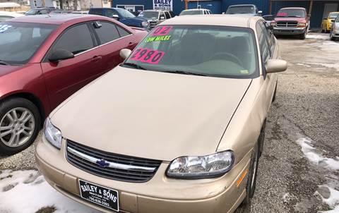 2002 Chevrolet Malibu for sale at Bailey & Sons Motor Co in Lyndon KS