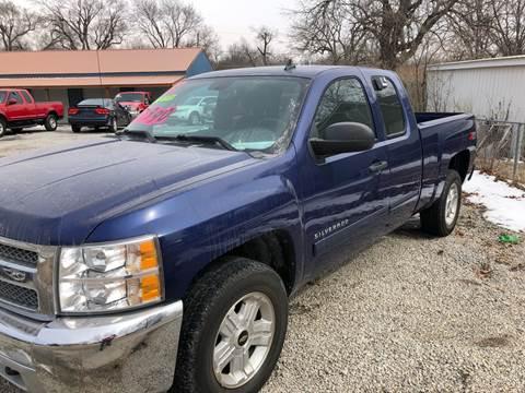 2013 Chevrolet Silverado 1500 for sale at Bailey & Sons Motor Co in Lyndon KS