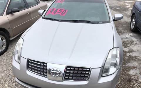 2006 Nissan Maxima for sale at Bailey & Sons Motor Co in Lyndon KS