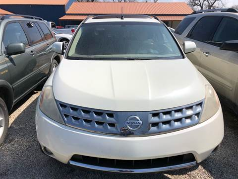 2006 Nissan Murano for sale at Bailey & Sons Motor Co in Lyndon KS
