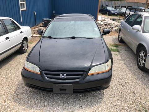 2002 Honda Accord for sale at Bailey & Sons Motor Co in Lyndon KS