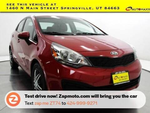 2015 Kia Rio for sale at AUTOMAXX MAIN in Orem UT