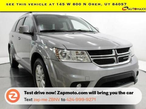 2015 Dodge Journey for sale at AUTOMAXX MAIN in Orem UT