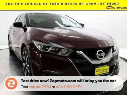 2016 Nissan Maxima for sale at AUTOMAXX MAIN in Orem UT