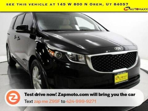 2017 Kia Sedona for sale at AUTOMAXX MAIN in Orem UT