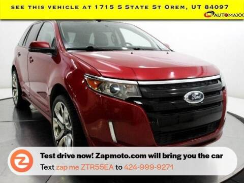 2012 Ford Edge for sale at AUTOMAXX MAIN in Orem UT