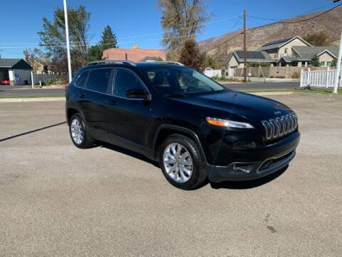 2017 Jeep Cherokee for sale at AUTOMAXX MAIN in Orem UT