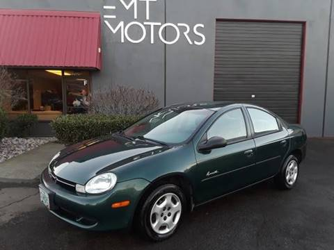 2000 Plymouth Neon for sale in Milwaukie, OR