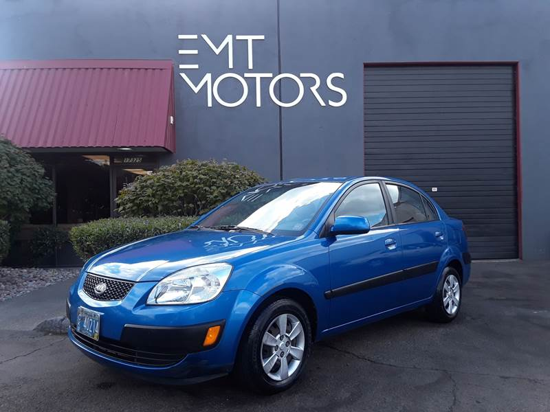Amazing 2007 Kia Rio For Sale At EMT MOTORS LLC In Milwaukie OR
