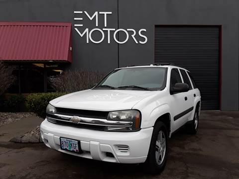 Chevrolet Trailblazer For Sale In Portland Or Emt Motors Llc