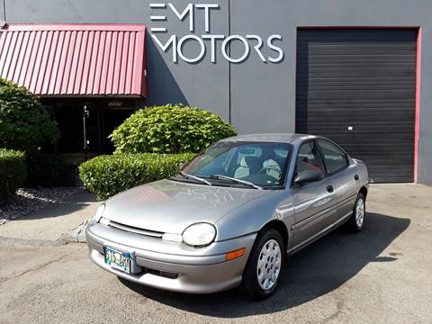 1998 Dodge Neon for sale in Portland, OR