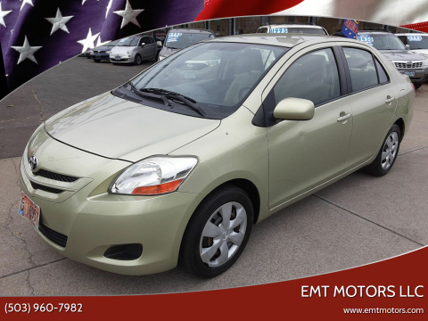 2007 Toyota Yaris for sale at EMT MOTORS LLC in Portland OR