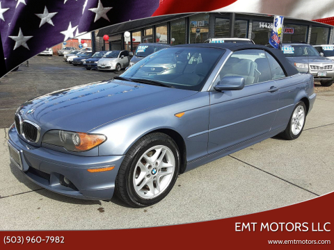 2004 BMW 3 Series 325Ci for sale at EMT MOTORS LLC in Portland OR