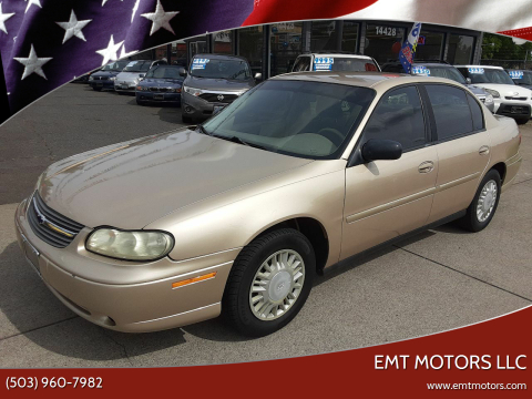 2005 Chevrolet Classic Fleet for sale at EMT MOTORS LLC in Portland OR